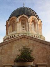 church dome in Jerusalem