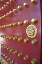 Decorative Chinese door.