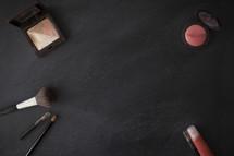 makeup against black