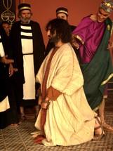 Sanhedrin trial, The trial of Jesus