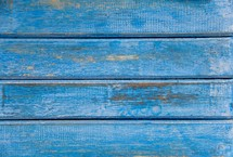 Blue wood boards