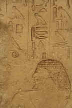 Egyptian hieroglyphics and pictograms