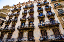 window terraces in Spain