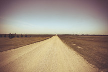 rural dirt road