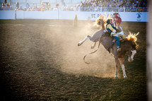 cowboys at a rodeo