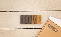 love and envelopes