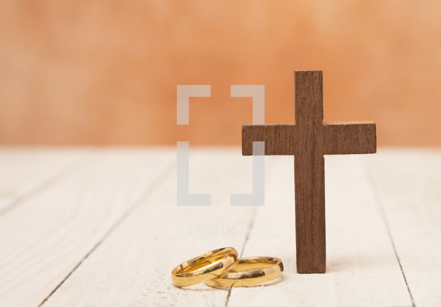 Wedding Bands and the Cross - A covenant before God