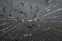 broken mirror