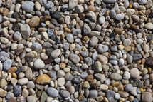 pile of smooth stones