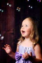 surprised girl child