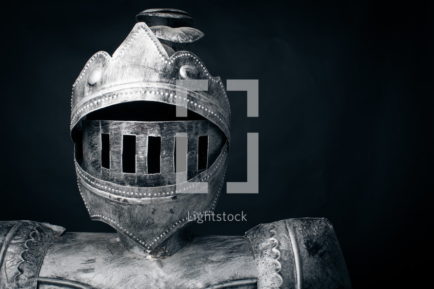 Suit of armor.