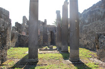 Roman ruins of Pompei, Italy