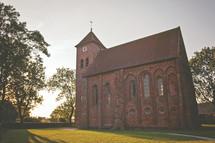 an old brick church