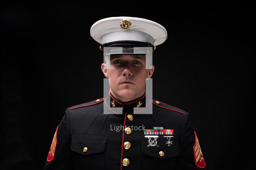 portrait of a Marine