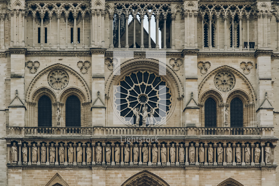Notre Dame exterior wall