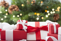 Christmas Gifts by the Tree