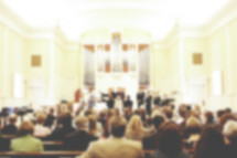 Church Service in Blur