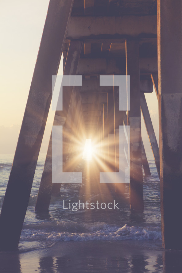 Sunlight at the Pier
