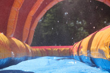 bounce house waterslide