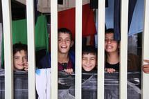 Iraqi/Syrian Refugees in a camp in Erbil, Iraq