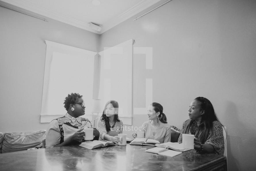 woman's group Bible study