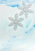 fabric snowflake