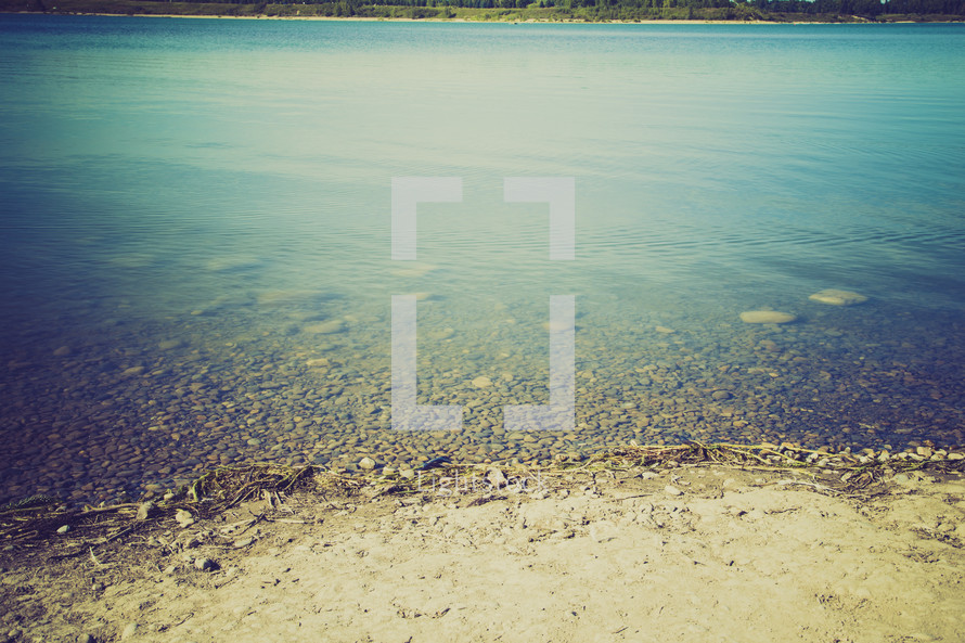 reservoir water