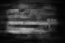 wood planks in black and white/greyscale
