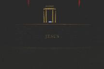 Jesus memorial platform.