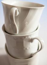 stacked mugs