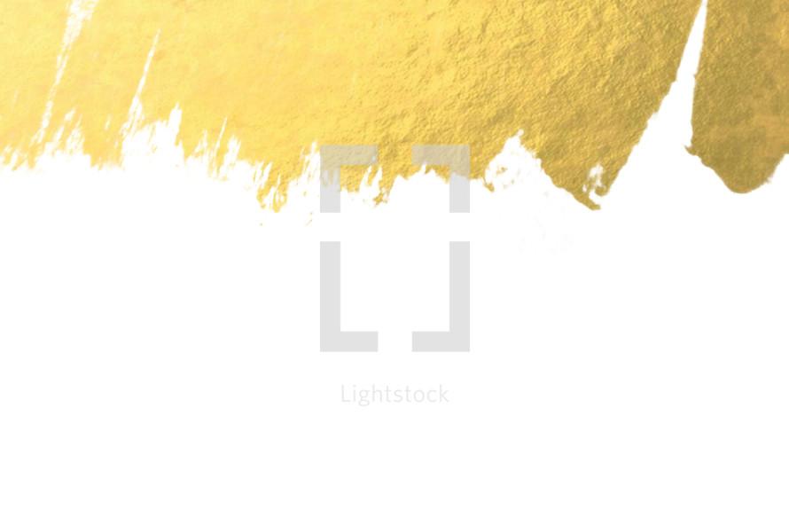 gold edge on white
