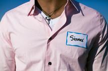 a sinner