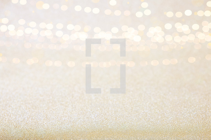 Celebration Golden Sparkle Background
