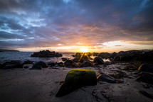 Irish shore