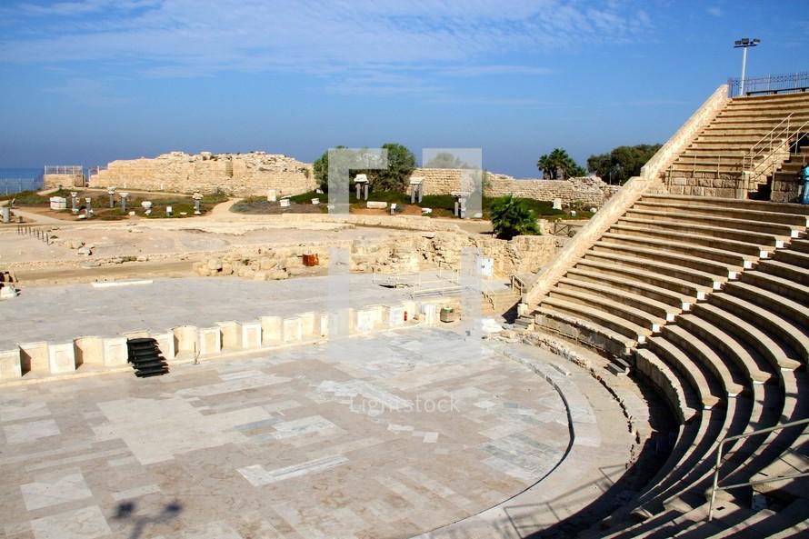 Caesarea by the Sea - where Paul defended his faith