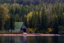 lakeside barn