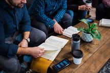 men's group Bible study