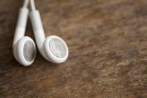 Ear buds.