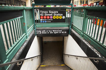 Subway, Times Square, 42 Street, station