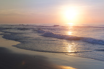 Early Morning Sunrise at the Beach