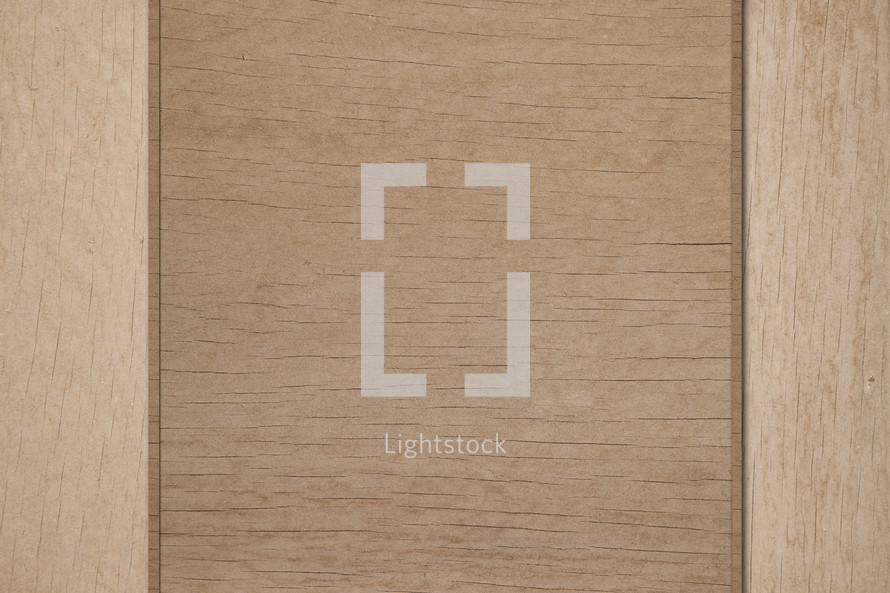 Wood panel.