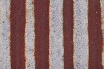rusty metal stripes background