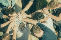 group prayer healing
