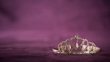 a jeweled tiara