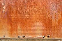 rust on metal
