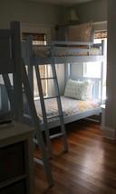 bunk beds in a bedroom
