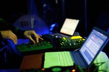 Sound production.