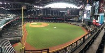 Chase Field ballpark Phoenix, Arizona