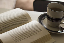 BIble and tea - morning devotional