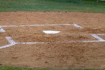 base on a softball field